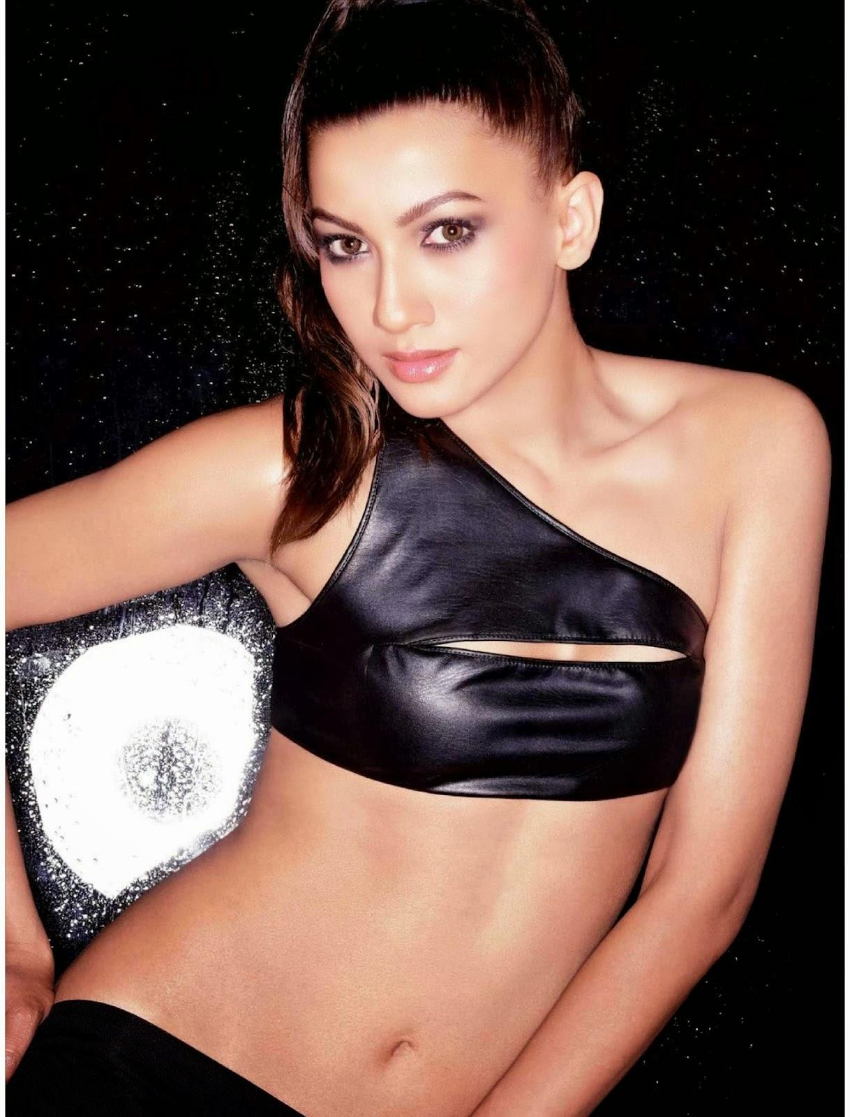 Gauhar Khan sexy Hot Photoshoot in Bikini for Maxim magazine