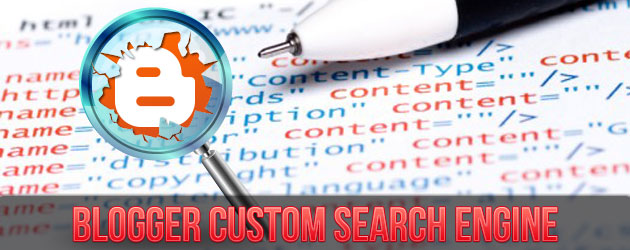 Blogger Custom Search Engine