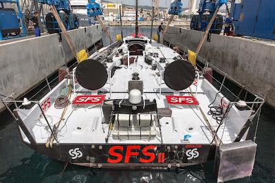 SFS II sous ses nouvelles couleurs.