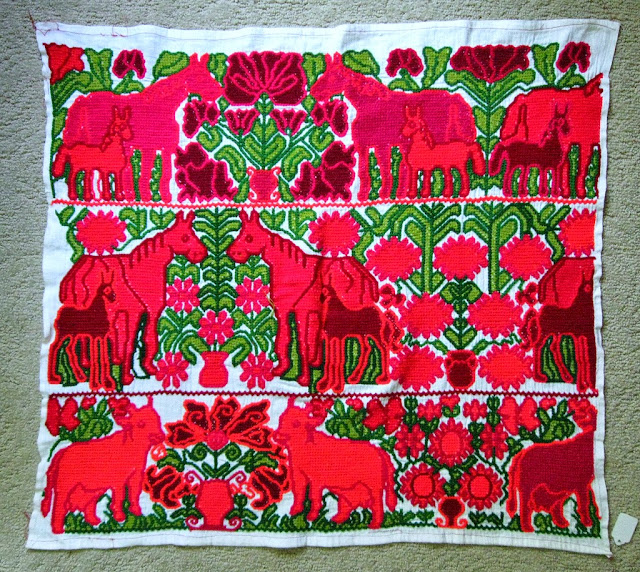 Mazahua Embroidery