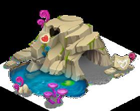 imagen del montaña de cria nivel 2 de dragon city