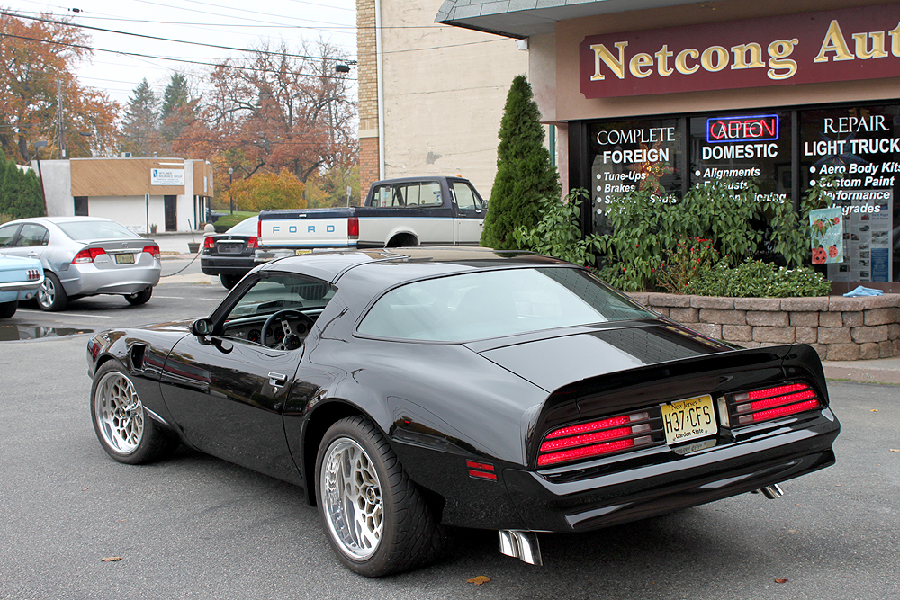 Netcong Auto Restorations Llc New Jersey Smokey And The Bandit Pontiac Trans Am Restomod