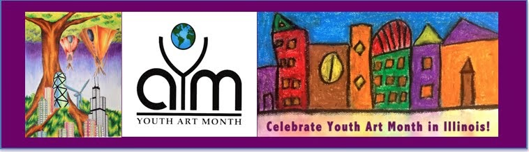 Celebrate Youth Art Month in Illinois!