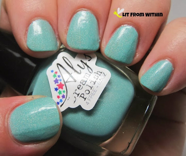 Probably one of Aly's most popular holos is Tiffanytea