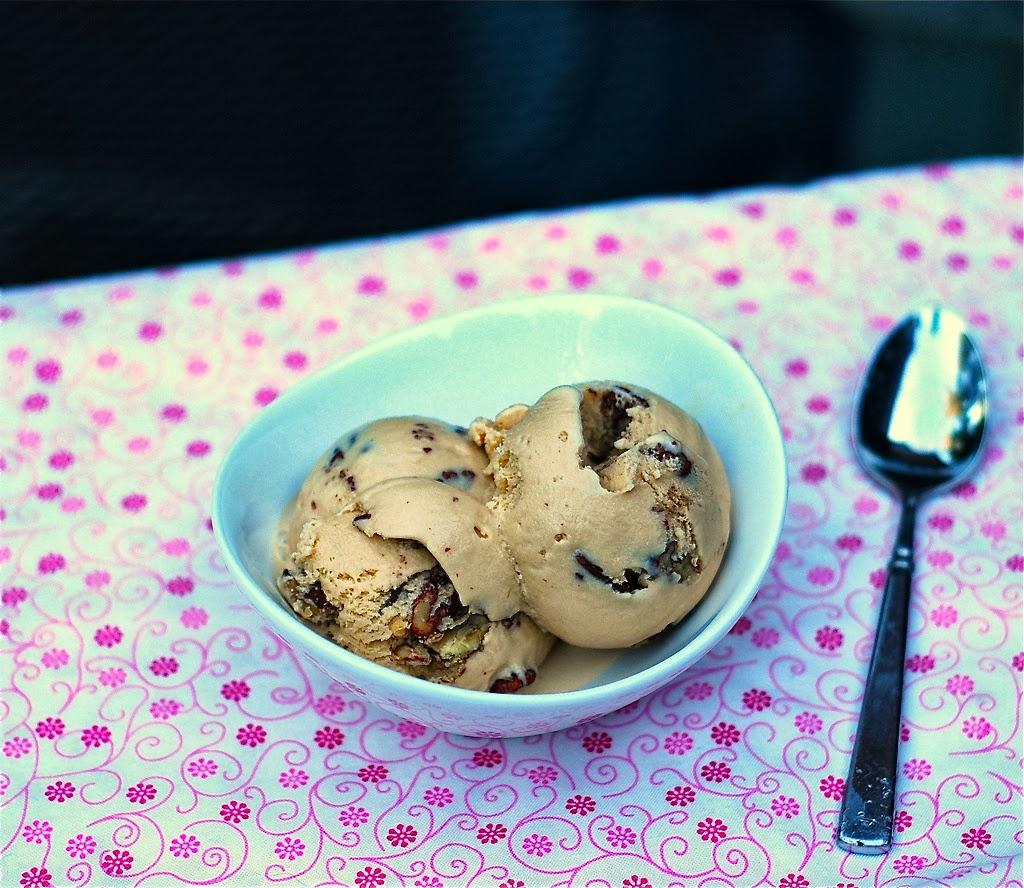 Marzipan: Butterscotch Pecan Ice Cream