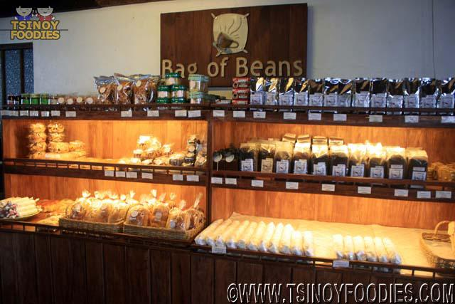 bag of beans bakeshop