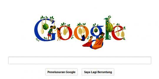 Google Doodle Pada Tanggal 17 Agustus 2012