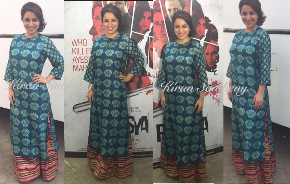 Tisca Chopra at Rahasya Promotions
