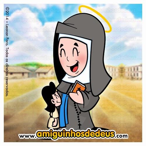 Santa Madre Paulina desenho