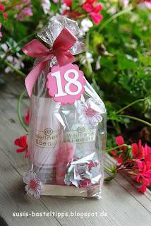 Geschenkverpackung mit Stampin' Up! Flowershop