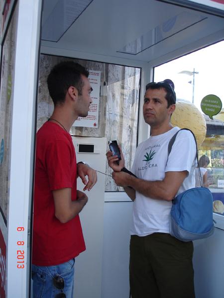 Cabina Vodafone si provocarile Vodafone