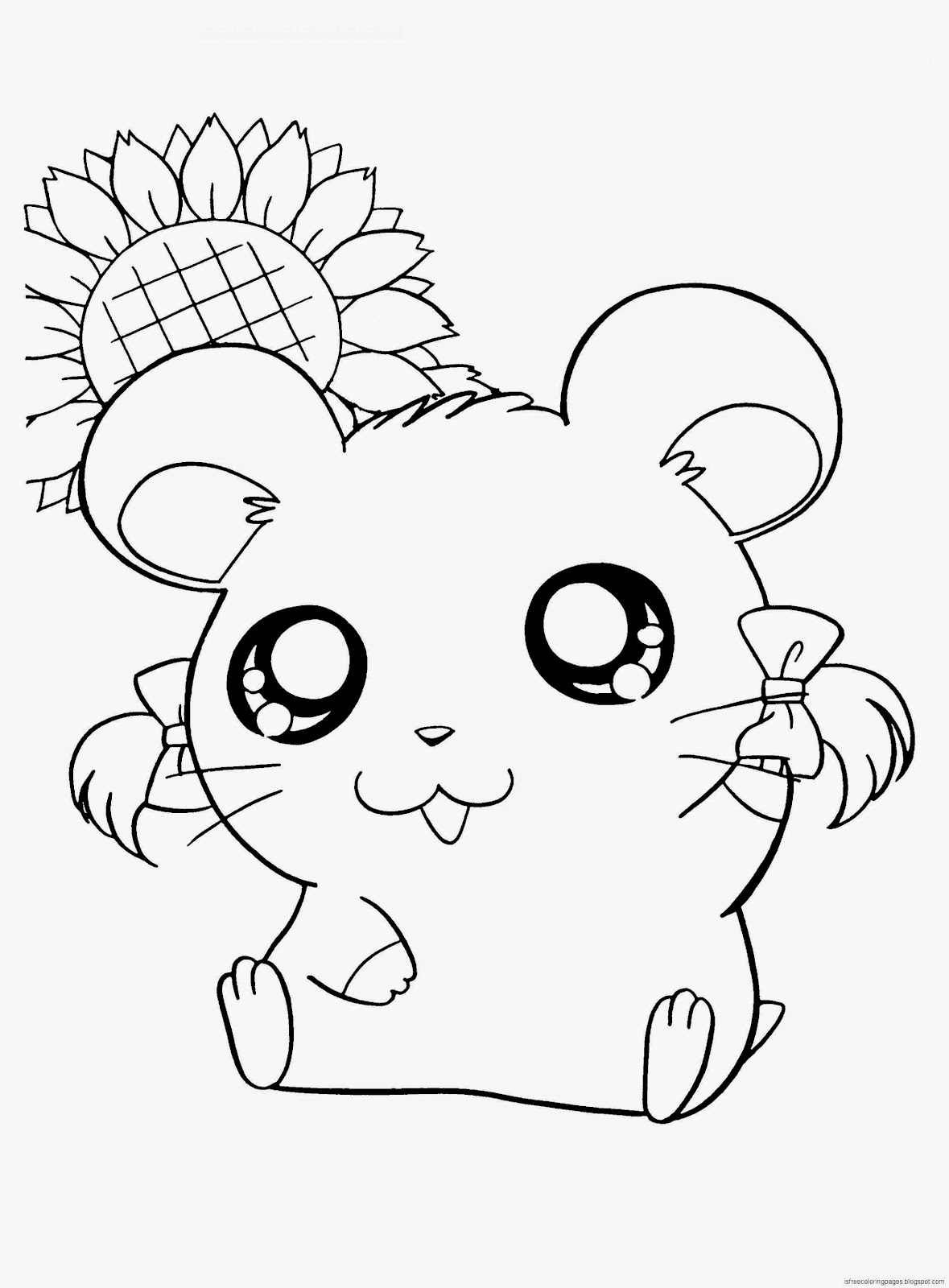 hamtaro coloring pages Hamtaro Coloring Pages | Free Coloring Pages hamtaro coloring pages