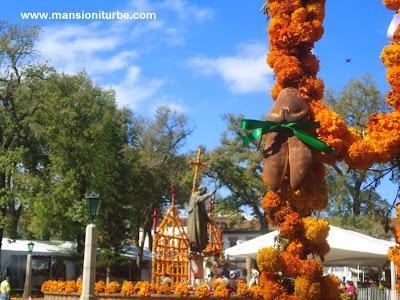 Celebracion de Dia de Muertos en Patzcuaro Michoacan
