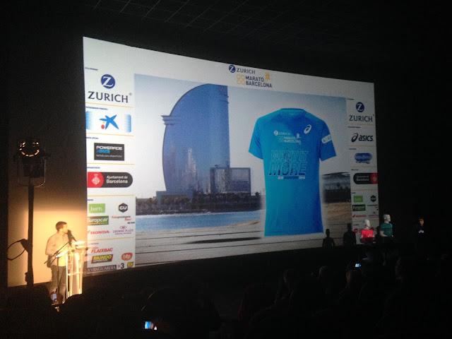Camiseta hombre Zurich Marató Barcelona 2016