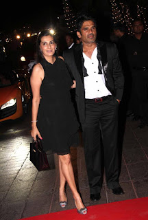 Sunil Shetty with Wife