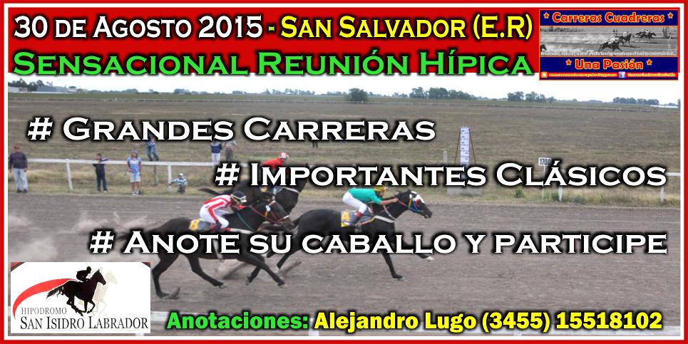 SAN SALVADOR - 30.08.2015