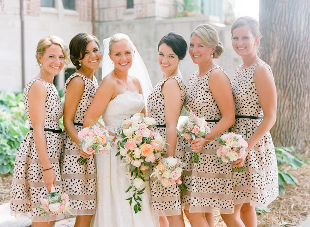 stains bridesmaid dresses
