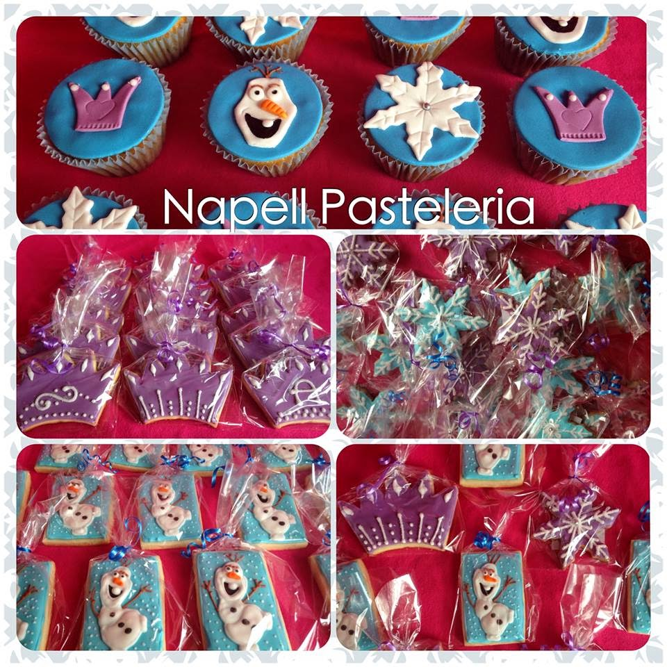 Cookies y Cupacakes Frozen