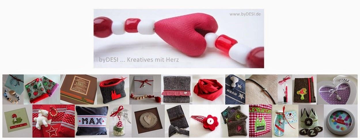 byDESI ♥  ...   Kreatives mit Herz