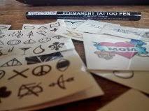 Utiliser un stylo tattoo Tatouage au stylo  - Stylo Tatouage Semi Permanent