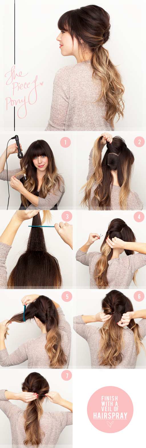 pony hair tutorial