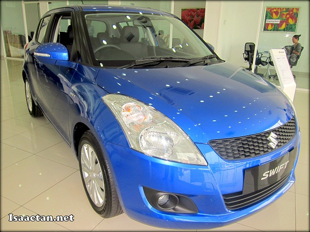 The New Suzuki Swift 2013 in all it's glory