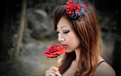 Red Rose HD Wallpapers girls