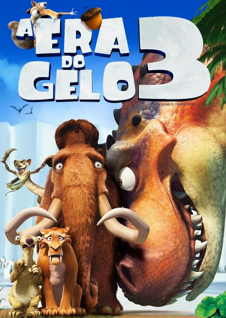 Filme A Era Do Gelo 3 Dublado AVI DVDRip