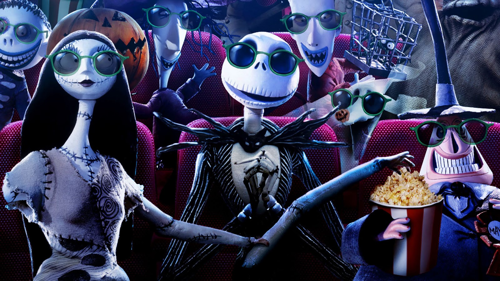 Sunglasses in The Nightmare Before Christmas animatedfilmreviews.filminspector.com
