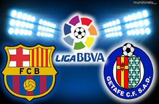 مشاهدة مباراة برشلونة وخيتافي مباشر