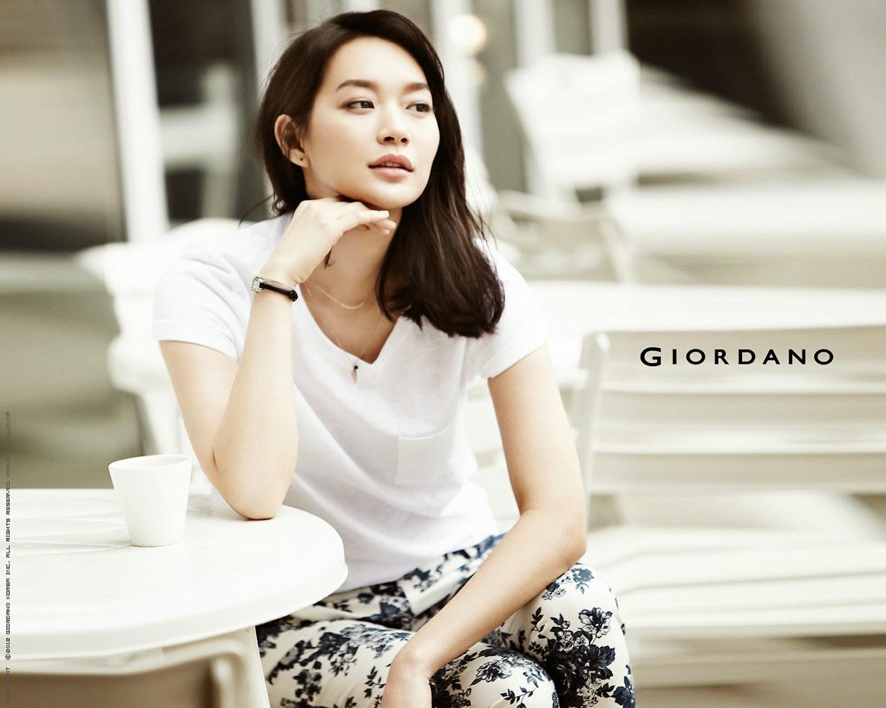 Shin Min Ah - Giordano Spring/Summer 2014