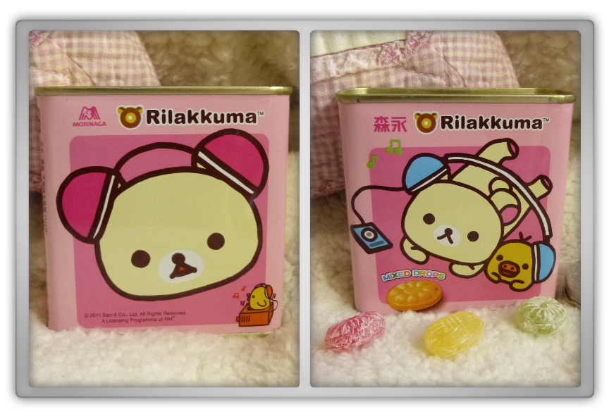 Blippo haul review shoplog rilakkuma kiiroitori korilakkuma tin can mixed drops review kawaii
