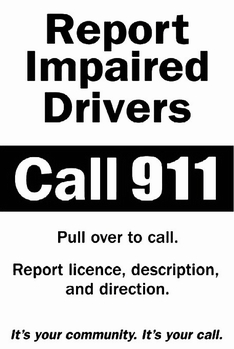 Report Impaired Drivers