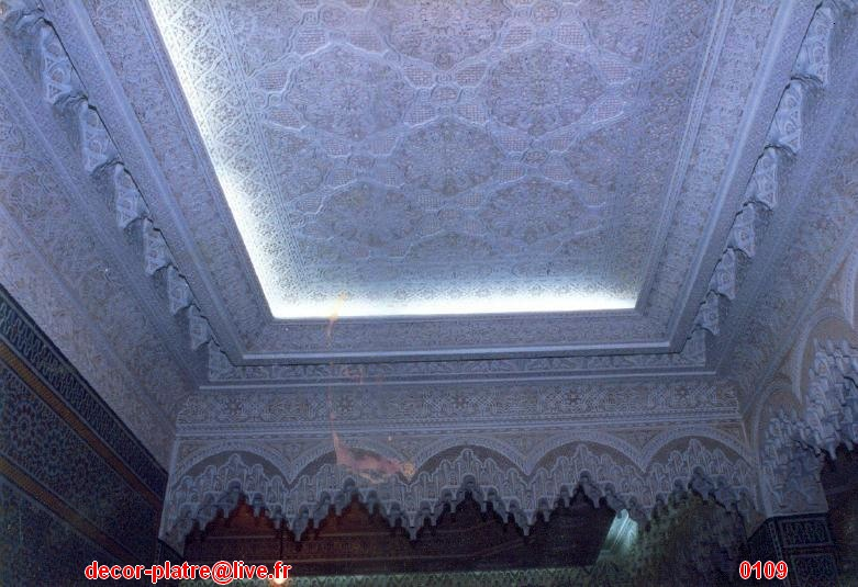 D coration plafond marocain g n rale for Decoration plafond marocain