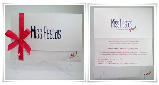 Inauguração Miss Festas, modelo Joaquina 20.
