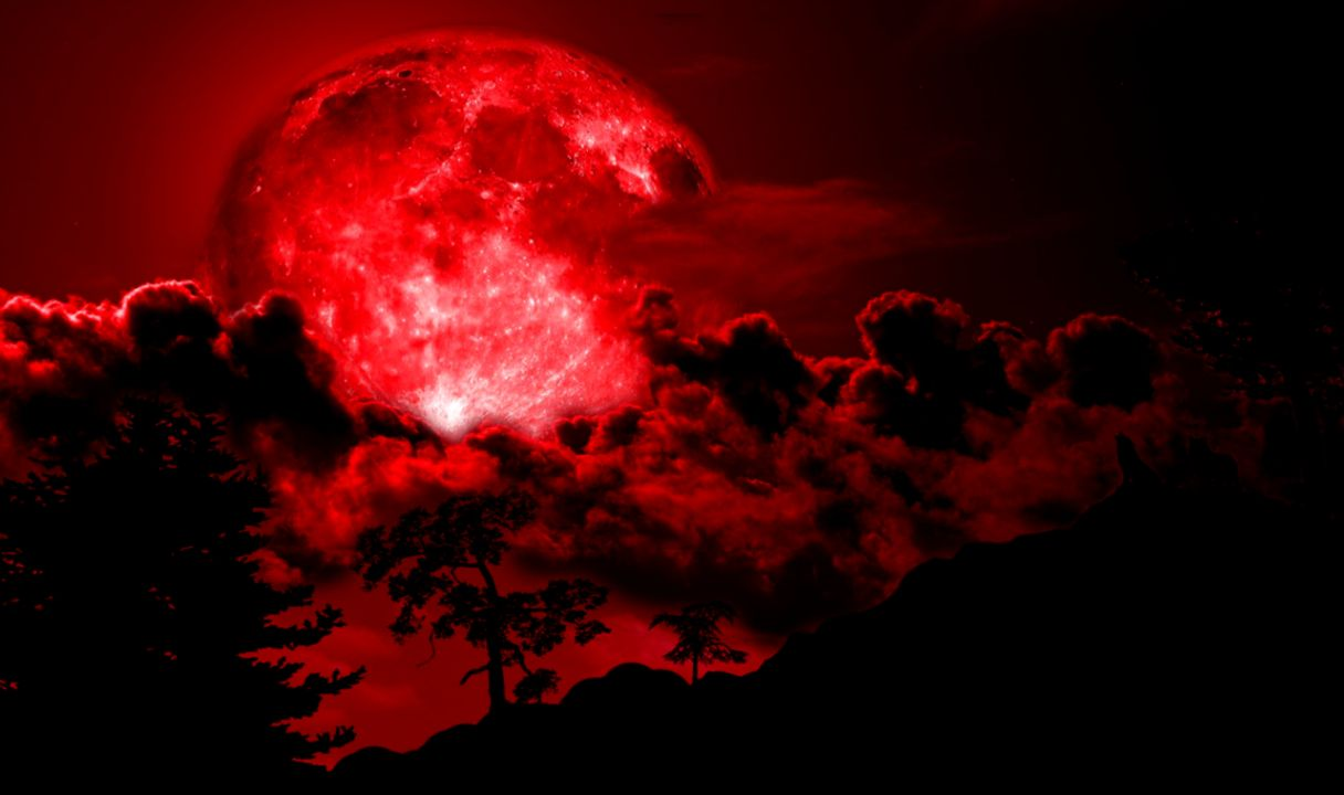 PC Laptop 28 Red Moon Wallpapers in FHD FYT76  Wallpapers