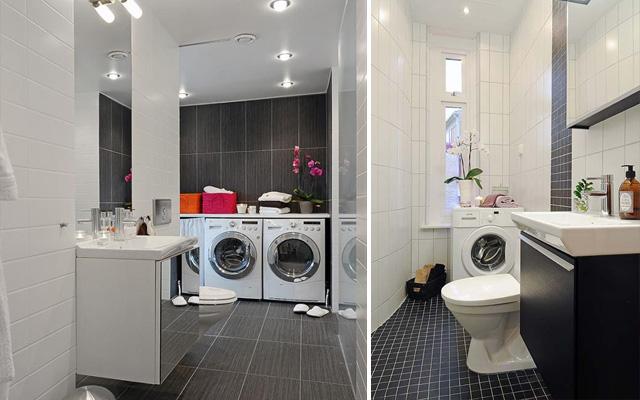 Cómo integrar la lavadora en el baño . la garbatella: blog de ...
