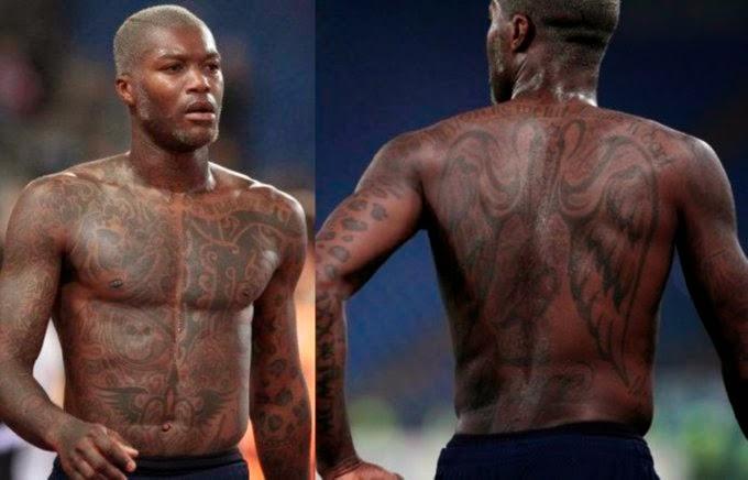 Djibril Cissé, anniversaire, birthday, happy journal, tatouages