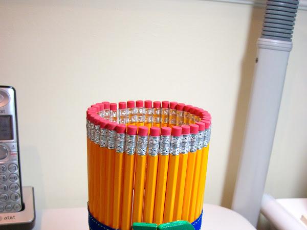 Pencil Cup Teacher Gift