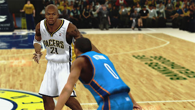 NBA 2K13 David West Cyberface Goatee Update