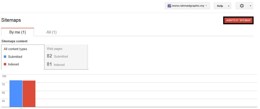 Cara Hantar Sitemap Ke Google Webmaster Tools