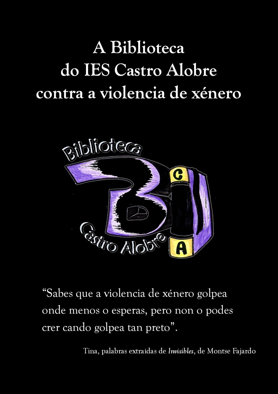 Biblioteca contra a violencia de xénero