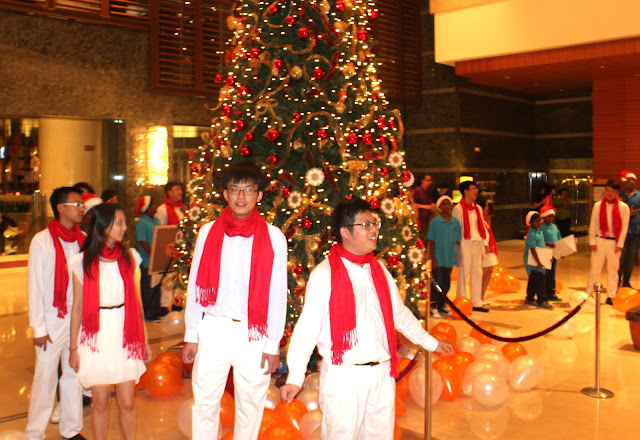 Prince Hotel and Residence, Kuala Lumpur, Christmas, carols, charity, decorations, Christmas Tree