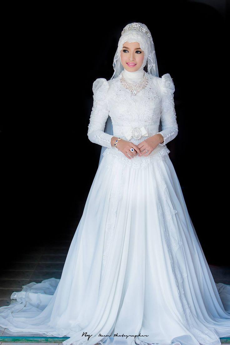 Muslim Wedding Attire, American Muslim Wedding Dress, Islamic Wedding Dresses for Women,  Muslims Wedding Dresses, Hijab Wedding Dresses Pictures, Hijab Bridal Wear, Islamic Wedding Hijab, Hijab Gown