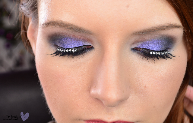 Atemberaubender Make Up Look für Silvester