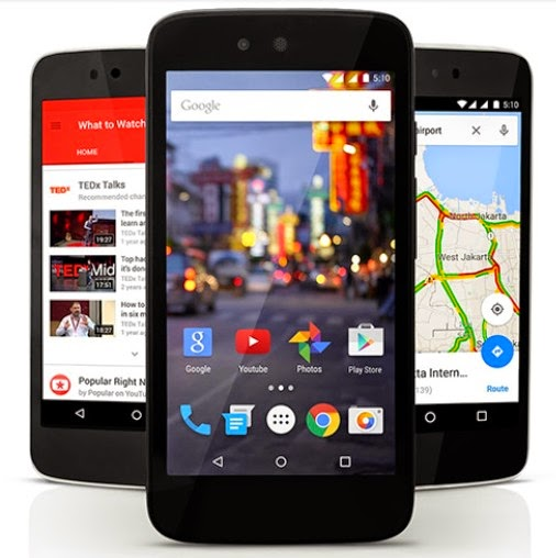 Android One Mito, Nexian, dan Evercoss