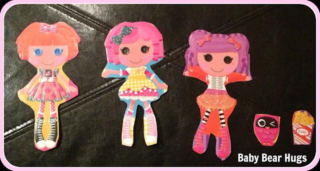 homemade lalaloopsy paper dolls