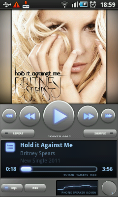 Android Music Player - PowerAMP