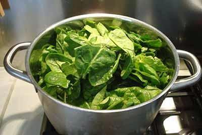 Polpettone con spinaci 1