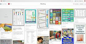 Reading Pinterest board